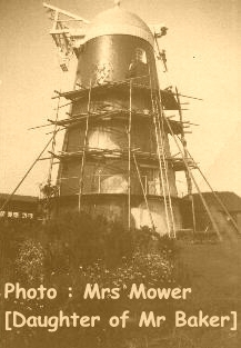 Arthur Baker and colleagues working on Jack Windmill in 1926