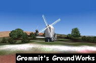 Jack and Jill Windmills - Image by A. J. Pick (Grommit's GroundWorks)