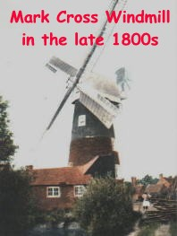 Mark Cross Windmill in the late 1800s